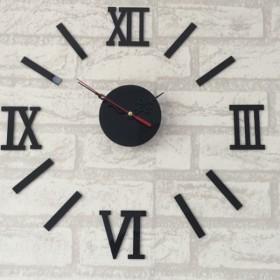 亚克力墙贴挂钟DIY时钟数字钟表
