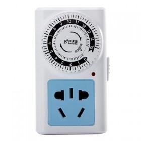 智能插座 手机电瓶车充电定时插排 15小时倒计时关