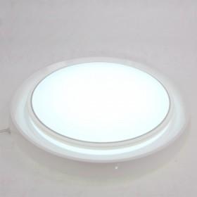 现代简约欧式LED吸顶灯具客厅卧室温馨节能花边白色