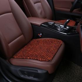 木珠汽车坐垫无靠背单垫