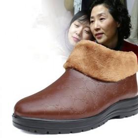 老北京布鞋女鞋棉鞋冬季加厚保暖家居拖鞋中老妈妈棉鞋