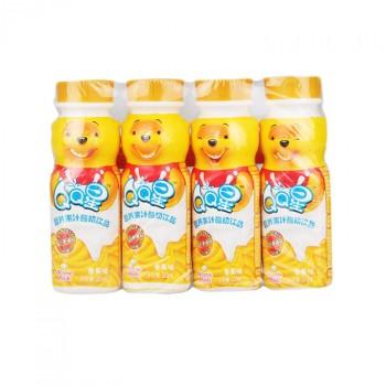 【包邮】 伊利qq星营养果汁酸奶小熊香蕉味儿童成长牛奶12瓶