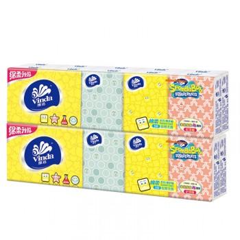 【包邮】 维达海绵宝宝手帕纸20包