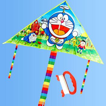 【包邮】 儿童机器猫潍坊风筝卡通可爱哆啦a梦 配30米线