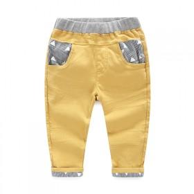 焕趣男童长裤春款 宝宝裤子2016新款童装中小童裤
