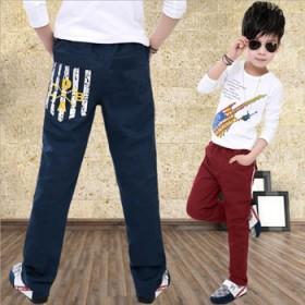 儿童纯棉运动休闲裤