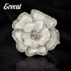花朵胸花胸针女 韩版时尚品牌 帽子丝巾外套饰品