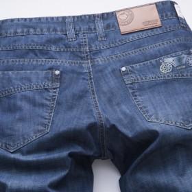 苹果牛仔裤夏季薄款