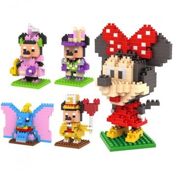【包邮】 小颗粒微积木 乐高式拼装玩具