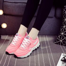 春季新款学生鞋女运动鞋百搭休闲旅游跑步透气女鞋