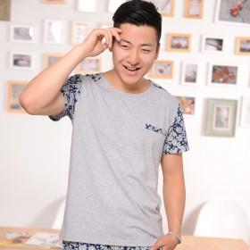 2016夏季新款潮流男士短袖T恤衫韩版潮