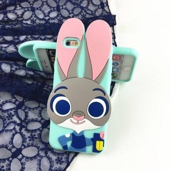 疯狂动物城iphone6手机壳兔子朱迪警官苹果5s