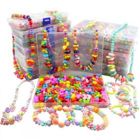 儿童玩具串珠手工DIY女孩项链手链