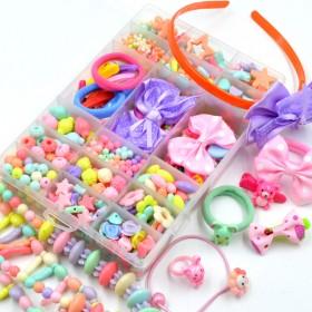 儿童玩具手工串珠女孩手链项链发饰