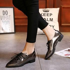 新品休闲鞋女平底松糕鞋流苏大码女鞋