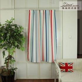 两片 简易窗帘成品遮光布卫生间防水浴帘(送挂钩)