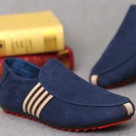 男士透气豆豆鞋英伦懒人鞋男鞋板鞋潮鞋