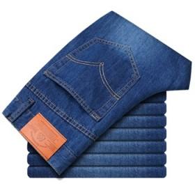 男士品牌直筒修身流行牛仔裤 四季青春韩版宽松