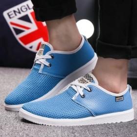 2016春夏新款英伦网布鞋