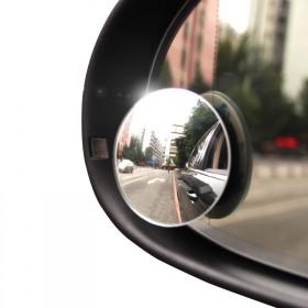 出口品质 真玻璃高清小圆镜
