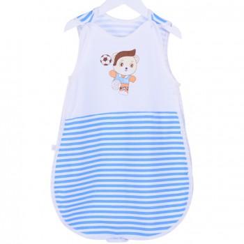 夏季薄款无袖婴幼儿睡袋放踢被
