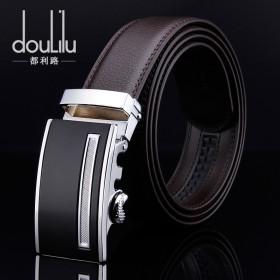 dulilu品牌品牌男士真皮腰带 自动扣皮带