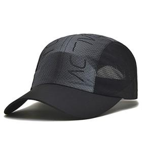 帽子男女士夏天棒球帽速干户外透气凉帽防晒鸭舌帽遮阳