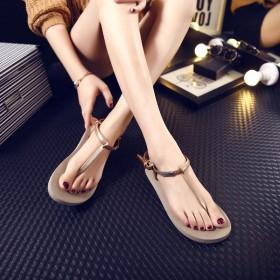 女鞋平底女士人字拖夏季罗马凉鞋