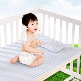 送凉枕 婴儿凉席凉枕亚麻防水幼儿园儿童春夏宝宝草席