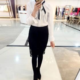德丽芙品牌专柜包臀半身裙短裙