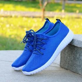 飞织布男鞋布鞋运动低帮鞋椰子鞋