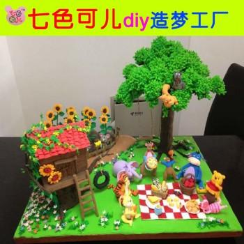 【包邮】 24色超轻粘土套装无毒彩泥3d太空泥环保儿童益智玩