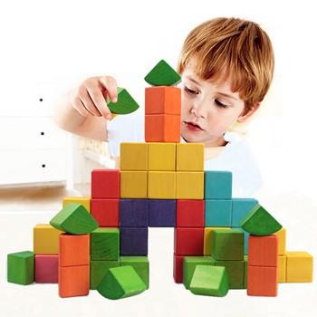大颗粒3d俄罗斯方块积木玩具可以啃的积木