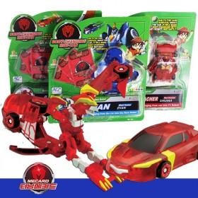 韩国魔幻车神爆神兽变形金刚机器人汽车儿童玩具