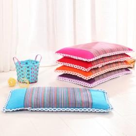 纯棉天然荞麦枕头0-1-3-6岁宝宝儿童枕定型透气