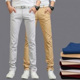 裤子男休闲裤修身直筒宽松春夏季男士薄款青年大码长裤