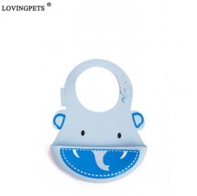 创意宝宝围兜儿童防水硅胶围嘴大号立体免洗饭兜