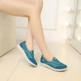 品牌老北京布鞋女鞋运动鞋休闲女鞋厚底透气舒适女鞋