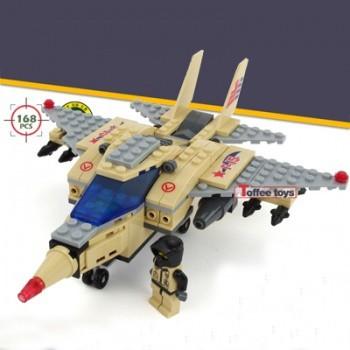 【包邮】 乐高积木军事部队悍马拼装汽车飞机男孩子玩具