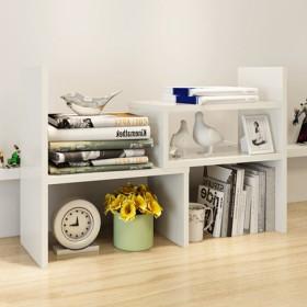 双爱电脑桌上书架桌面伸缩小置物架