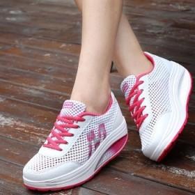 女版厚底松糕鞋单鞋