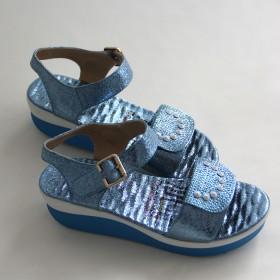 特价2016新款韩版夏季低帮水钻凉鞋女