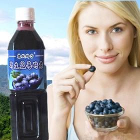 玲子自制野生蓝莓酵素500毫升