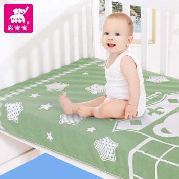 象宝宝品牌 婴儿床凉席竹纤维 柔软舒适 亲肤如润