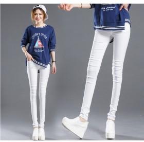 小脚裤铅笔裤打底裤外穿女士长裤夏季黑色薄款
