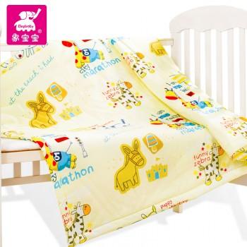 象宝宝婴幼儿童 空调被子全棉 幼儿园小学生午睡被