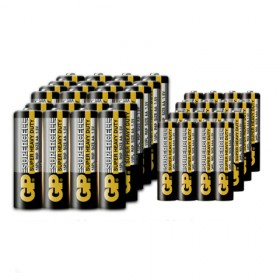 GP霸碳性干电池5号电池40节送7号4节