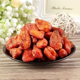 草莓干168g零食蜜饯果脯水果干办公室零食