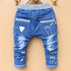 童装新款女童春装长裤男童0-6岁