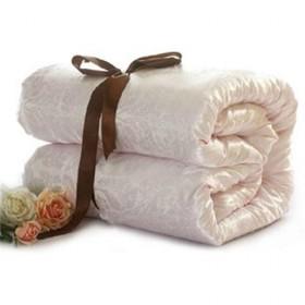 富安娜八斤蚕丝被送皮包